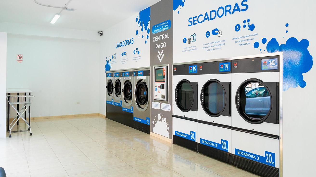 Lavanderia El Fraile Tenerife secadoras lavadoras