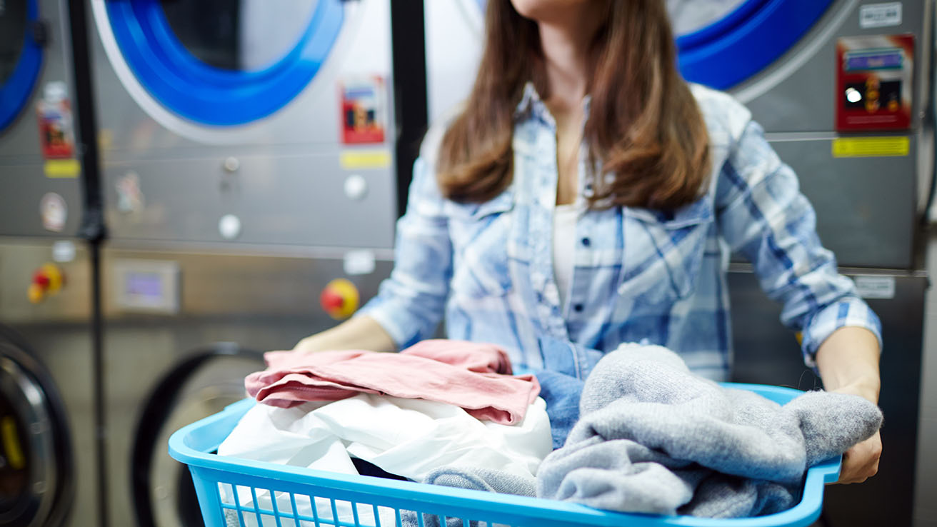 Como secar la ropa lavanderia azul